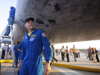 Astronaut inspired by 'The Right Stuff' gets set for the second act he never expected