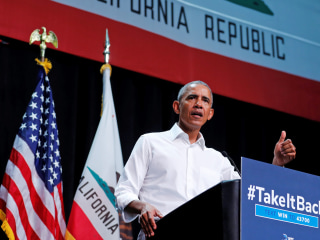 Obama campaigns in California, says 2018 brings a chance to restore 'sanity' in politics