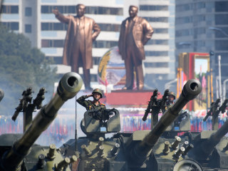 North Korea celebrates 70th anniversary with huge parade