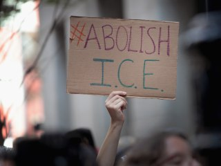 Democrats haven't abolished ICE, just their message about it