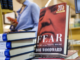 Red-hot book sales show Americans love to read about Trump