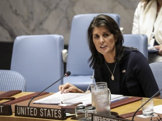 Amb. Haley attacks Russia for undermining sanctions on North Korea