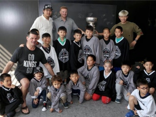 Eyeing international growth, Los Angeles Kings start first Chinese NHL youth program
