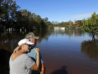 Florence leaves flooding, devastation in its wake