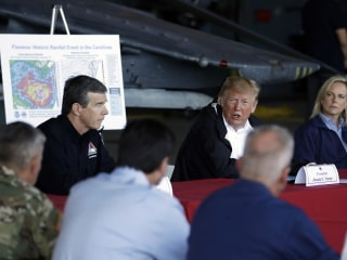 Trump vows 'there will be nothing left undone' in Florence recovery