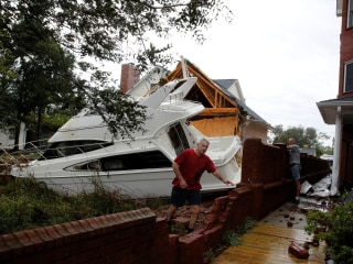 After Florence's fury, North Carolina homeowners confront devastation, cleanup