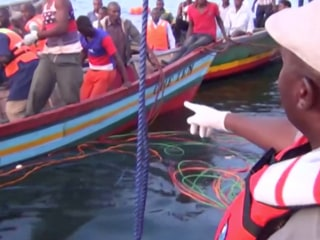 Lake Victoria ferry disaster kills more than 100 in Tanzania