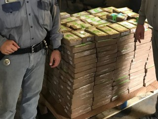 Boxes of donated bananas contained $17.8 million worth of cocaine