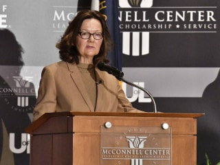 CIA Director Gina Haspel pledges to target opioids entering the U.S.