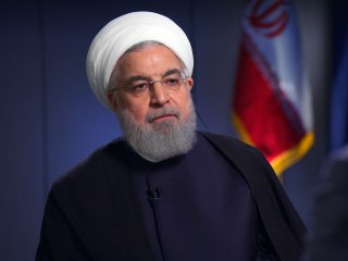 Citing U.S. sanctions, Iranian president says he has no plans to meet Trump