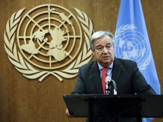 U.N.'s Guterres to caution against populism at General Assembly
