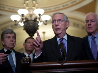 McConnell projects confidence but doesn't have the votes for Kavanaugh yet