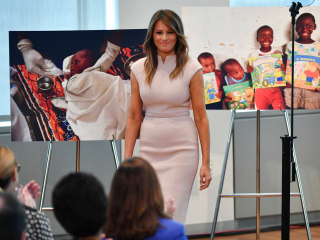 First lady Melania Trump to visit Africa in October without her husband