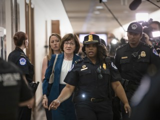 Tensions rise on Capitol Hill as Kavanaugh vote nears