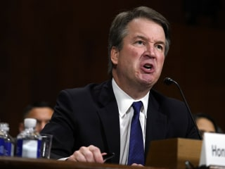 Kavanaugh: 'I might have been too emotional' during Senate testimony
