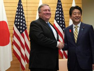 Pompeo, in Japan, seeks allied unity before North Korea talks