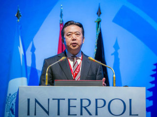 China says Interpol president Meng Hongwei faces bribery investigation