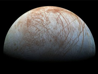 Jupiter moon may have huge, jagged ice blades that complicate the search for alien life