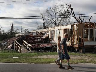 Hurricane Michael pounds Florida Panhandle