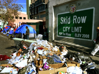 Skid Row vote fraudsters preyed on L.A. homeless, authorities charge