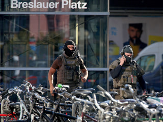 German police investigating hostage situation at a train station as possible terror attack