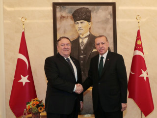 Pompeo meets Turkey's Erdogan, says Saudis 'promised accountability' over Khashoggi disappearance