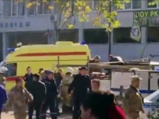 Attack by student gunman leaves more than a dozen dead at Crimea college
