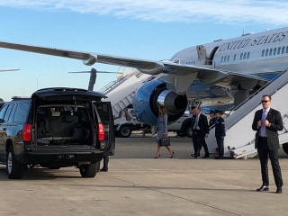 First lady Melania Trump's plane suffers 'mechanical issue,' returns to Joint Base Andrews