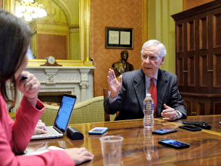 McConnell strikes confident tone as midterm elections near