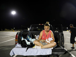 Baby born after Hurricane Michael starts life in Walmart parking lot