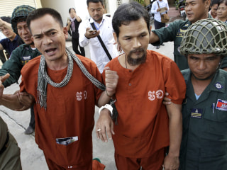 Pardoned from a Cambodian prison, this political activist eyes a return