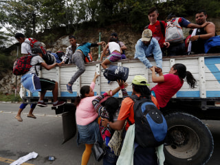 Migrant caravan's long journey to U.S. border