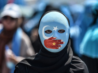 A million Muslims are held in detention camps that China now portrays as 'humane'