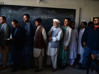 Afghans head to the polls facing renewed security threat 17 years after U.S. invasion