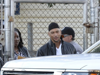 Former NFL player Rae Carruth released from prison after 18 years for role in pregnant girlfriend's murder