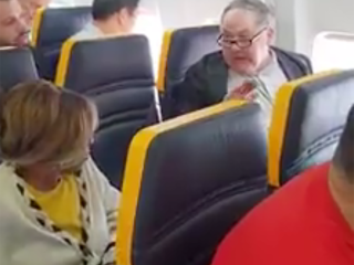 Ryanair facing criticism for allowing passenger directing racist rant at woman to stay on flight