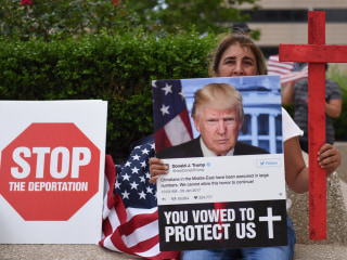 Trump vowed to protect Middle East Christians, so why is ICE accused of lying in bid to deport them?