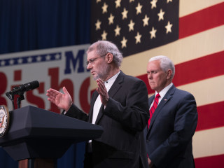 Pence sets off firestorm with campaign prayer by 'Christian rabbi'