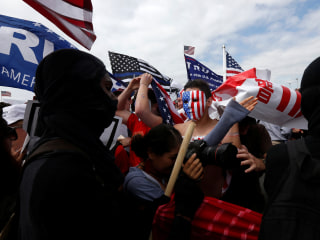 White supremacist pleads guilty in connection with violence at California rally
