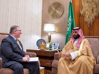 Saudi Arabia's crown princes hosts Christian evangelical leaders