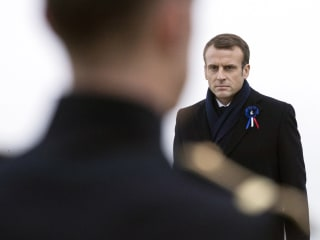 Macron warns 'nationalist leprosy' threatens Europe