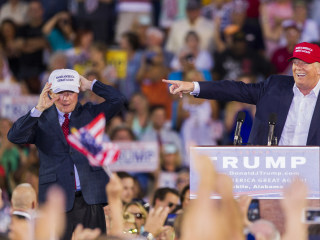 The up-and-down relationship between Jeff Sessions and Donald Trump