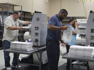 Trump on Florida: 'Many ballots are missing or forged.' Gillum: 'You sound nervous'