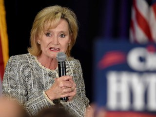 Mississippi GOP Sen. Hyde-Smith calls voter suppression 'great idea.' Campaign: 'Obviously' joking.