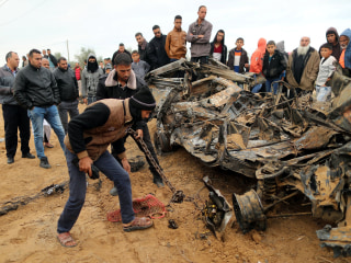 Netanyahu rushes home after burst of Israel-Gaza violence