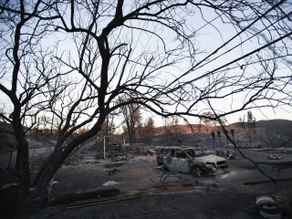 California battles deadly wildfires in north and south