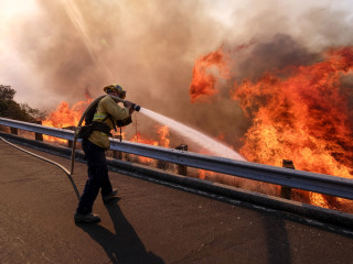 Mismanagement isn't to blame for California wildfires, scientists say, bucking Trump