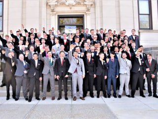 Dozens of Wisconsin high school students apparently give Nazi salute in viral photo