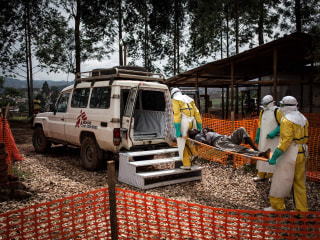 Ebola outbreak in Congo likely to last 6 more months, WHO says