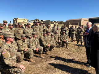 Mattis visits border troops, defends use of military on U.S.-Mexico line